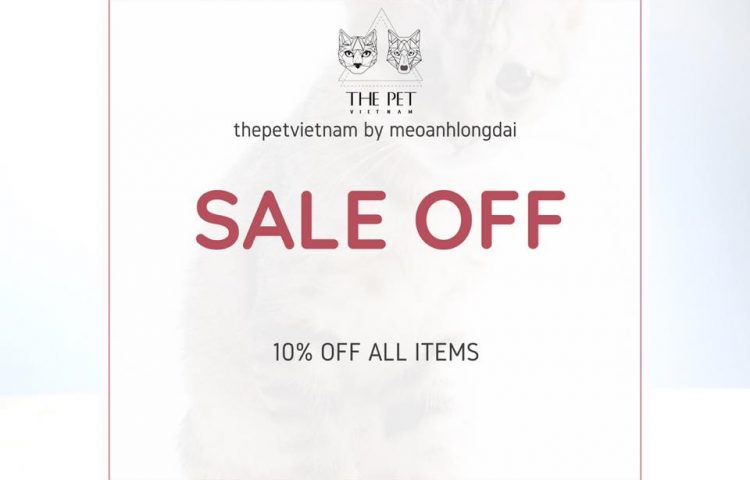 Flash Sale thang 8 The Pet Vietnam